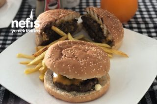Çift Köfteli Hamburger Menü Tarifi