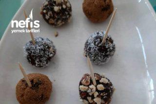 Kalan Keklerden Çikolata Topları Tarifi