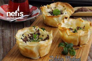 Muffin Kalıbında Şip Şak Kolay Börek Tarifi