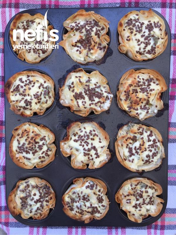 Muffin Kalbında Şip Şak Kolay Börek
