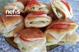 Yumuşacık Sandviç Poğaça Tarifi