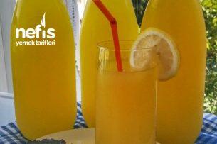Serin Serin Portakallı Limonata Tarifi