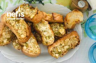 Fırında Peynirli Ekmeğe Sürülen Tarifi