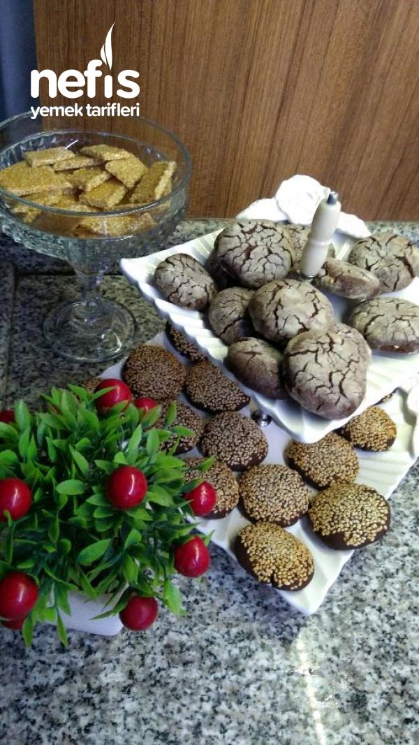 Kakaolu Fındıklı Kıyır Kıyır Kurabiye