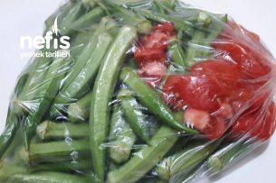 Kışın Yiyebileceğiniz Taze Taze Buzlukta Bamya Tarifi