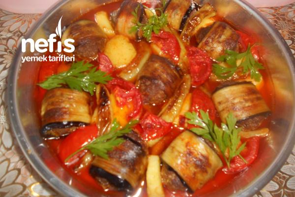 Patlıcanlı Köfteli Sarma Tarifi
