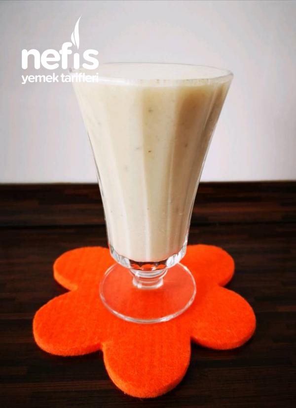 Yoğun Muzlu Milk Shake