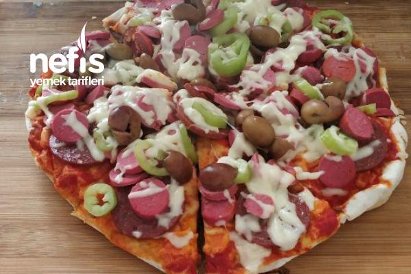 10 Dakika Da Pizza Tarifi