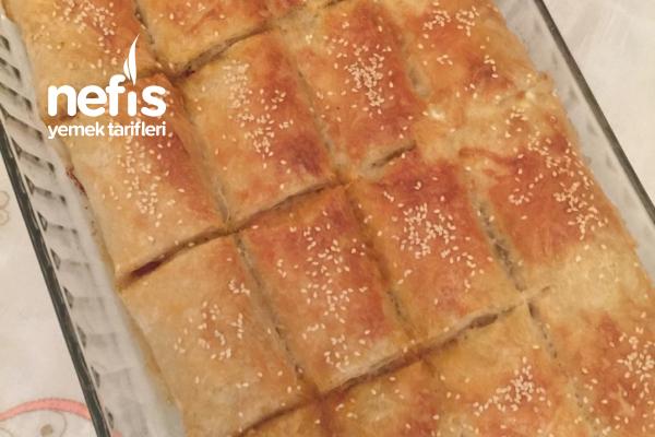 Patlıcanlı Börek (Baklavalık Yufkadan) Tarifi