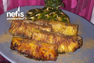 Tarçınlı Ananas Tatlısı (Yapması Çok Kolay Yemesi İnanılmaz Keyifli) Tarifi