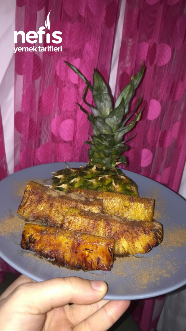 Tarçınlı Ananas Tatlısı (yapması Çok Kolay, Yemesi İnanılmaz Keyifli)