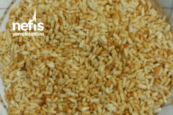 Atıştırmalık Pirinç Patlağı Tarifi