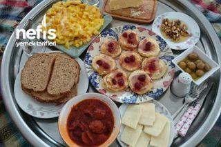 Hafta Sonu Mütevazi Kahvaltımız Tarifi