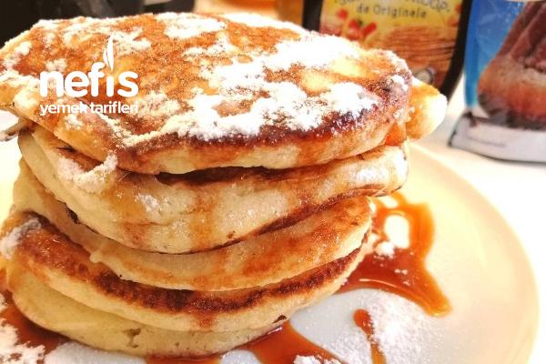 Amerikan Tarzı Fluffy (Pofuduk) Pancake Tarifi