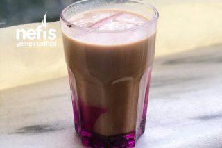5 Malzemeli Buzlu Kahve Tarifi