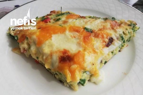 Frittata – Kabaklı ( İtalyan Mutfağı)