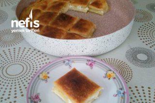 İlginç Pişirme Yöntemiyle Soslu Börek Tarifi