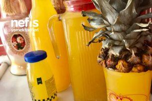 Organik Şeftalili Limonata Tarifi