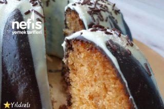 Çikolata Aşkına Bademli Kek (Videolu) Tarifi