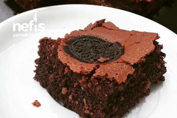Brownie (Sadece 3 Kaşık Unla) Tarifi