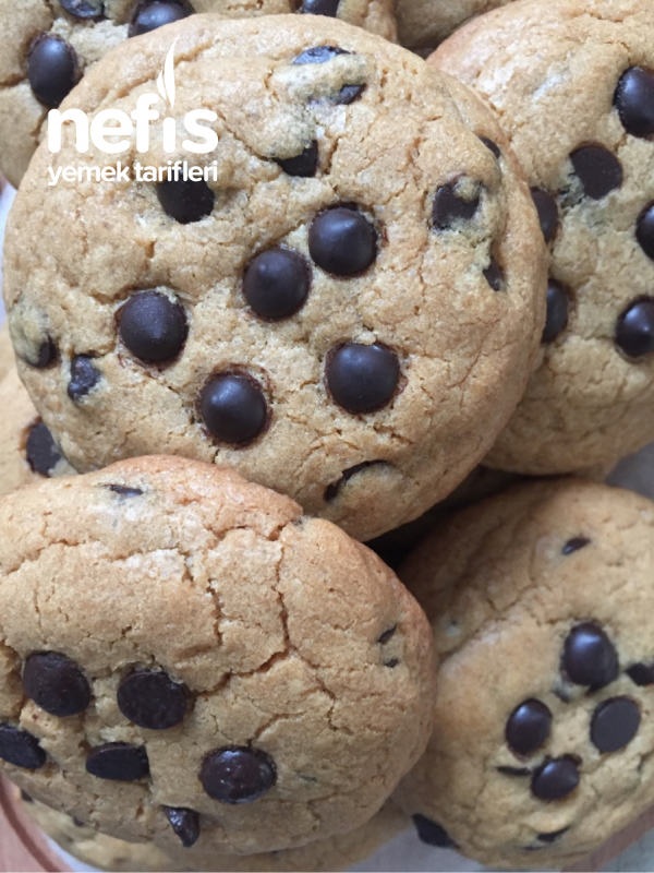 Chocolate Chip Cookie (Damla Çikolatalı Kurabiye)