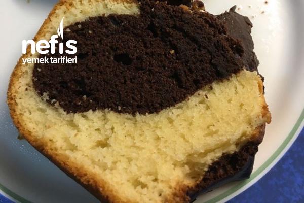 Damla Çikolatalı Kakaolu Sade Kek ( Kabarma Garantili Enfes ) Tarifi