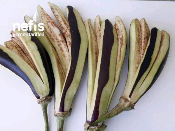 Kışlık Efsane Yemeklik Patlıcan Kurutması!