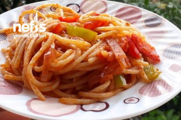 Sebzeli Spagetti Tarifi