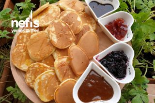 Kahvaltının Vazgeçilmezi Pankek Tarifi