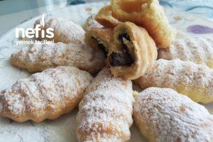 Lezzeti Hamurunda Lokumlu Ve Çikolatalı Kurabiye Tarifi