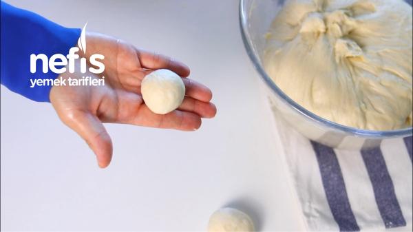 Pastane Usulü Saçaklı Poğaça (Hamuruna Bayılacaksınız)