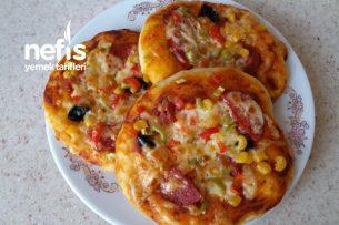 Porsiyonluk Pizza Tarifi