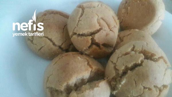 tahinli sıvıyağlı kurabiye(bademli)