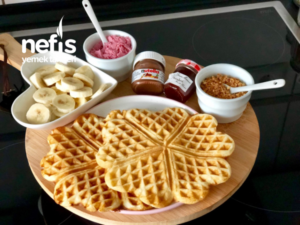 Waffle/Waffel (Püf Noktalarıyla Alman Tarifi)