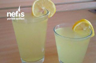 Çok Pratik Enfes Limonata Tarifi (Bir De Böyle Deneyin)