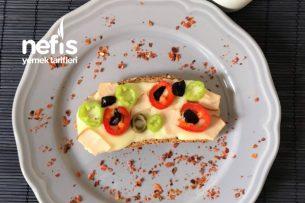 Tavada Ekmekli Pizza Tarifi