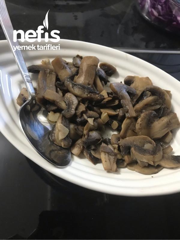 Yoğurtlu Mantar (Çok kolay ve lezzetli)