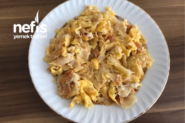 Yumurtalı Peynirli Yufka Ekmek Tarifi