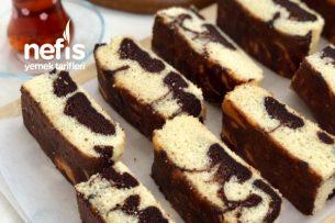 Çikolatalı Ebruli Kek Tarifi