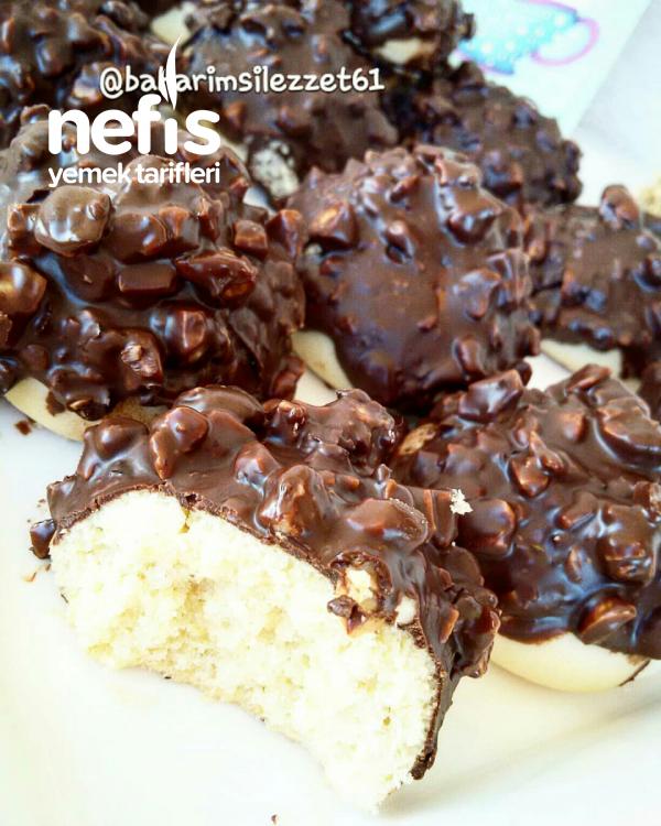 Çikolatalı Fındıklı Kurabiye aşırı Lezzetli