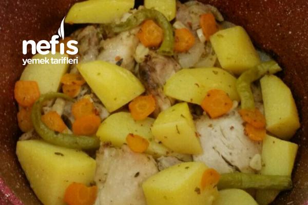 Fırında Pratik Tavuk Yemeği Tarifi