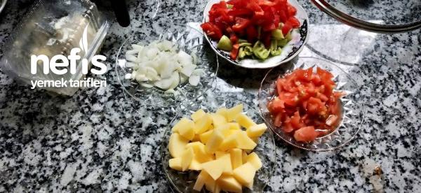 Köz Patlıcanlı Sote