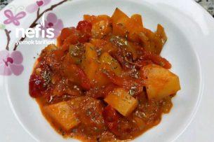 Köz Patlıcanlı Sote Tarifi