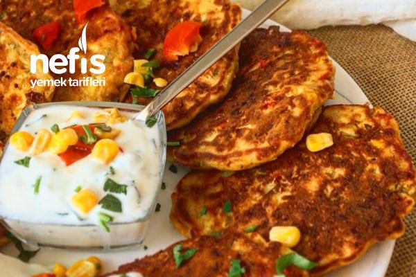 Sebzeli Pancake