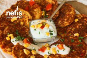 Sebzeli Pancake Tarifi