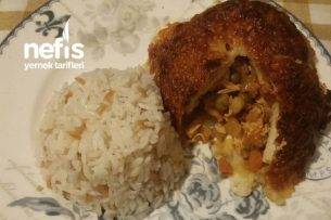Sebzeli Tavuklu Yufka Kebabı Tarifi