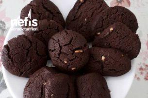 Bisküvi Tadında Kakaolu Yerfıstıklı Kurabiye Tarifi