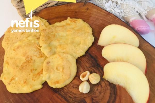 Elmalı Fındıklı Pankek Tarifi