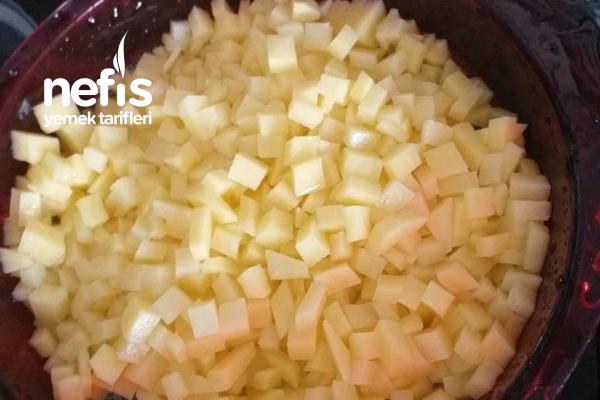 Kıymalı,biberli,patatesli Yumurta
