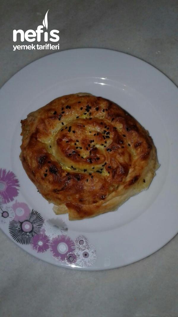Patatesli Gül Böreği (Buzluğa Koymak İçin Çok İdeal ve Pratik)